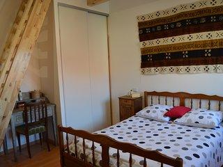 Le Grangeot - Chambre duplex de 25m² dans maison de montagne