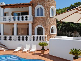 Cala Vadella Villa Sleeps 6 with Pool and Air Con - 5805483