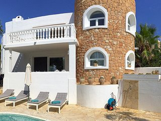 Cala Vadella Villa Sleeps 6 with Pool Air Con and WiFi - 5805477