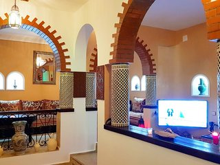 Morrocan house in old medina of Asilah