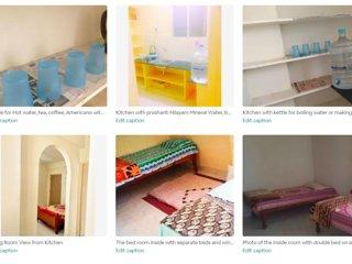 4 bed Full Home & Kitchen - Puttaparthi Sai Ashram 2 min