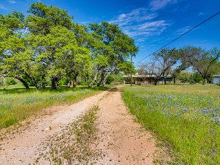 NEW LISTING! Lakeside Burnet home w/deck surrounded by nature & wildlife