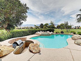Luxe Home on Fairway w/ Private Pool & Spa - Separate Casita, Mountain Views