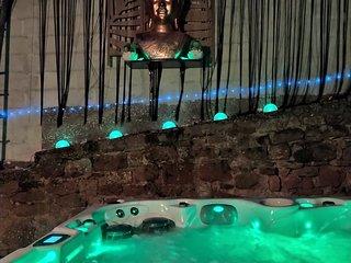 Maison au calme proche de Strasbourg avec spa privatif et piscine de saison