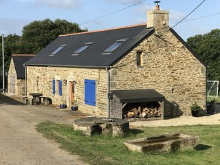 Holiday Home Brittany. Beautiful rural location &close to beaches.