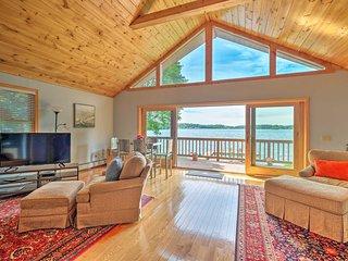 Beautiful Berkshires Lake House w/ Private Dock!