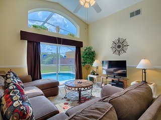 419BC. Lovely 4 Bedroom 3 Bath Pool Home with Games Room in Gated Community