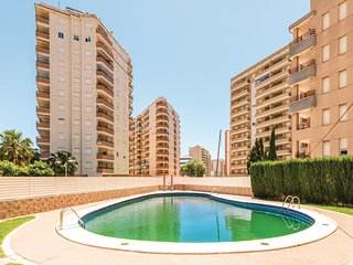 Beautiful apartment in Oropesa del Mar w/ Outdoor swimming pool, WiFi and Outdoo