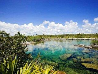 Azul Riviera, Located on Yalku lagoon Akumal an Enormous Outdoor Aquarium!