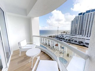 Beachfront Condo in Central Beach