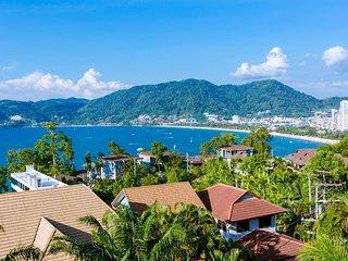 Patong Indigo cozy villa super sea view