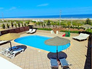 Villa avec piscine privee et vue imprenable sur la mer