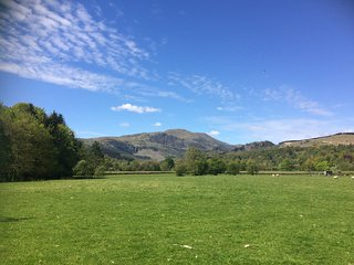 Views of Ben Ledi and surrounding countryside on your doorstep.