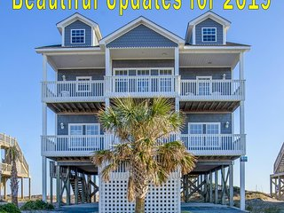 New River Inlet Rd 424 Oceanfront! | Private Pool, Jacuzzi, Internet Discounts A