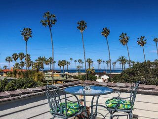 400 ft to Beach & Kellogg Park Playground! Ocean View Deck, Pool, BBQ