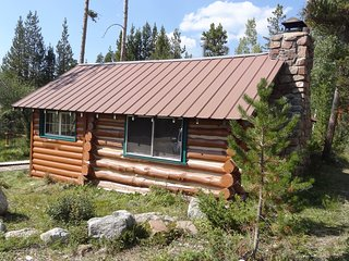 Historic Cabin on Columbine Lake