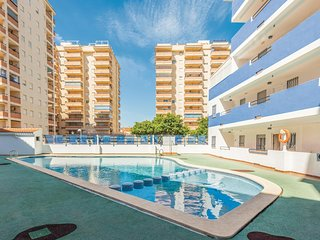 Awesome apartment in Oropesa del Mar w/ Outdoor swimming pool, Outdoor swimming