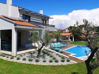 neue Villa mit Pool in Tar-Vabriga für 10 Personen
