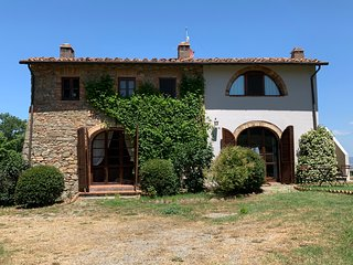 Heart of Tuscany. Very private house with swimming pool.  Beautiful viiews