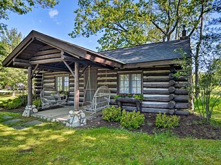 NEW! Harbor Springs Log Cabin on Tunnel of Trees!