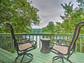 Luxury Hot Springs House w/Deck on Lake DeSoto!