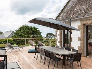 Le Sémaphore, Belle Maison Vue Mer, terrasse, Jardin.