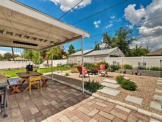 NEW! Home w/ Yard 3 Mi. to Downtown Salt Lake City