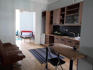 Stay in a historically-designated building in Thessaloniki center