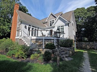 Oak Bluffs Home with Lagoon Beach Rights