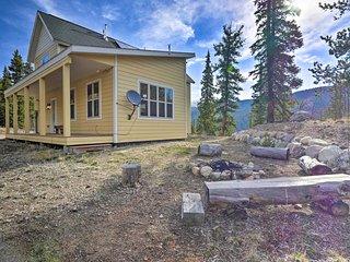 NEW! Alma Home w/ Mtn Views ~20 Mi to Breckenridge