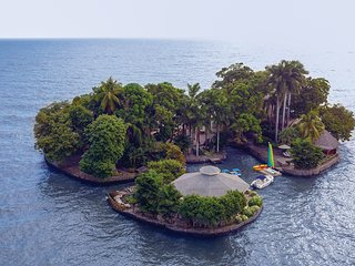 Private Island Paradise for 2* 37,600 Sq Ft* Boating Facilities* With Staff