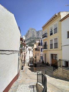 Calle de subida al Carrer SantJosep