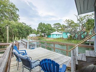 Flexible Refund Policies: Tybee Island river house w/ private dock
