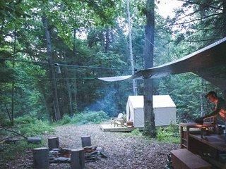 Tentrr- Hucklebuck Railway Camp West