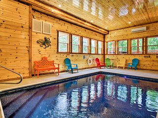 NEW! Pigeon Forge Cabin w/Theater, Arcade & More!
