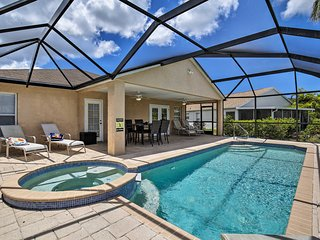 NEW! Bradenton Home w/ Lanai & Saltwater Pool/Spa!