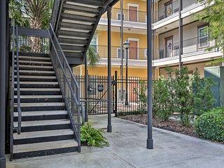 Gated Condo w/Balcony-0.5 Mi to Tiger Stadium