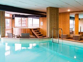 Ski aux Pieds ! Appartement charmant au centre, acces Piscine + Sauna