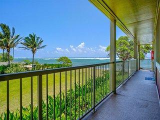 Privacy w/Ocean View! Modern Kitchen, WiFi, Flat Screen, Lanai–Kauai Kailani