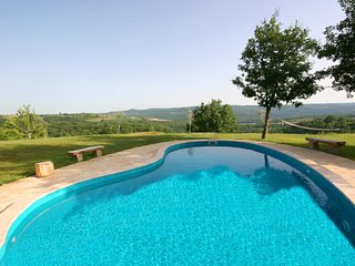 Groznjan Villa Sleeps 2 with Pool Air Con and WiFi - 5604760