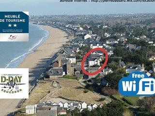 BAIE MONT ST MICHEL .50 M de la plage . VILLA Rdc 7 Pers . TT Confort . 2 **.