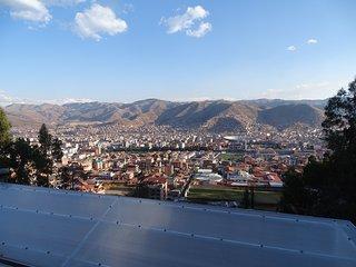 Increible vista en Cusco