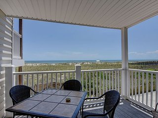 Beach Front Oasis - Oceanfront condo just steps away from the sandy beach