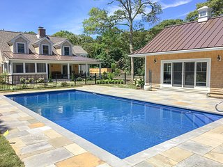 Private Orleans resort-style compound w/heated pool & spa and fire pit: 023-O