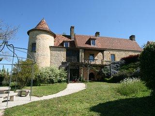 Manoir de Costeperier - proche Lascaux, Sarlat - panorama - piscine naturelle