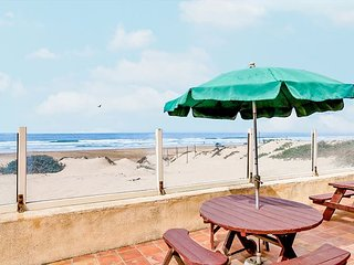 Oceanfront Home with Direct Beach Access, Fire Pit & BBQ