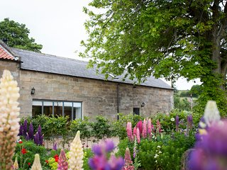 CHESTNUT BARN, luxurious, stunning views, woodburning stove in Aislaby, Ref