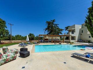 Villa Ellie-Luxurious renovated 5 bedroom villa,swimming pool, BBQ, playground!