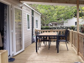 lareservedesmaulny Mobil home 6/8pers neuf clim terrasse camping **** la réserve