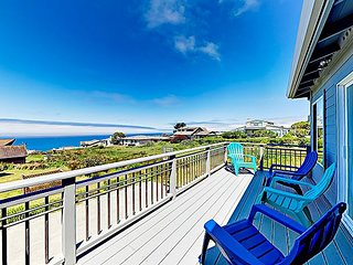 Beautifully Updated Dillon Beach Haven with Game Room & Pacific Vistas